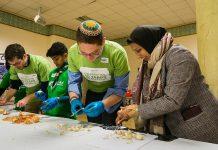 Judeus e muçulmanos se uniram em Londres