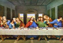 A Última Ceia, de Leonardo da Vinci - Reprodução