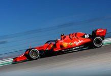Um carro de Fórmula 1 da equipe Ferrari, uma das mais tradicionais do campeonato. Foto - Twitter-F1
