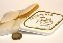 Os famosos calissons, biscoitinhos franceses famosos em todo o mundo