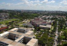 Campus da UFMG, que está entre as dez melhores universidades do país. Foto - UFMG