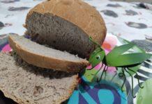 Pão artesanal feito em casa pela jornalista Gisele Bicalho. foto - arquivo pessoal