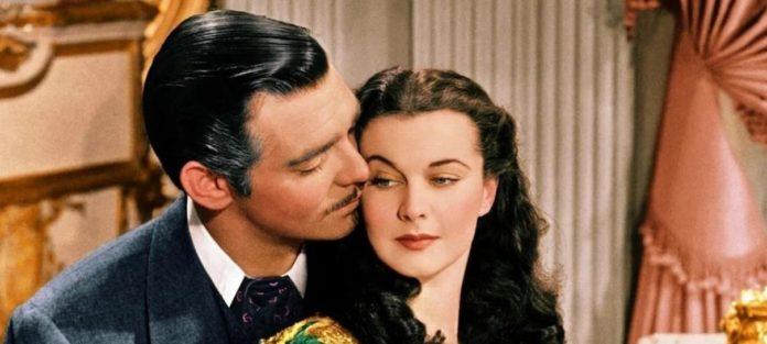 Clark Gable e Vivien Leigh em cena do clássico